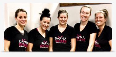 group training with Dayna Deters