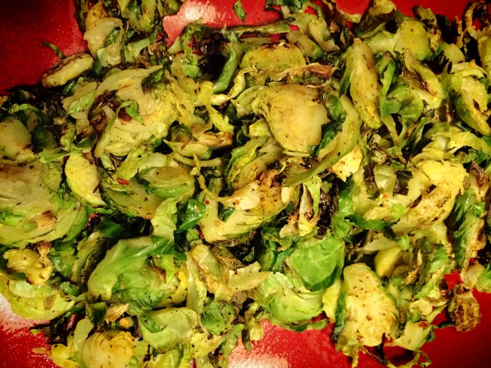 Shredded Chili Brussels Sprouts - Dayna Deters Determined ...