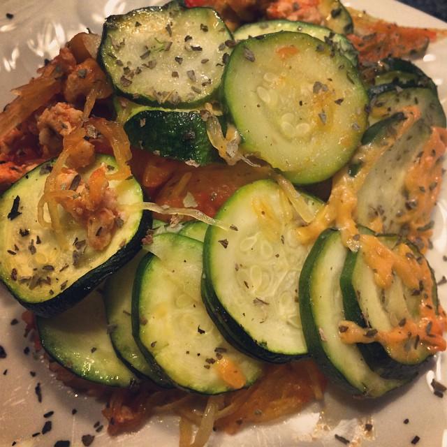 Zucchini Squash Strata - Dayna Deters Determined Fitness