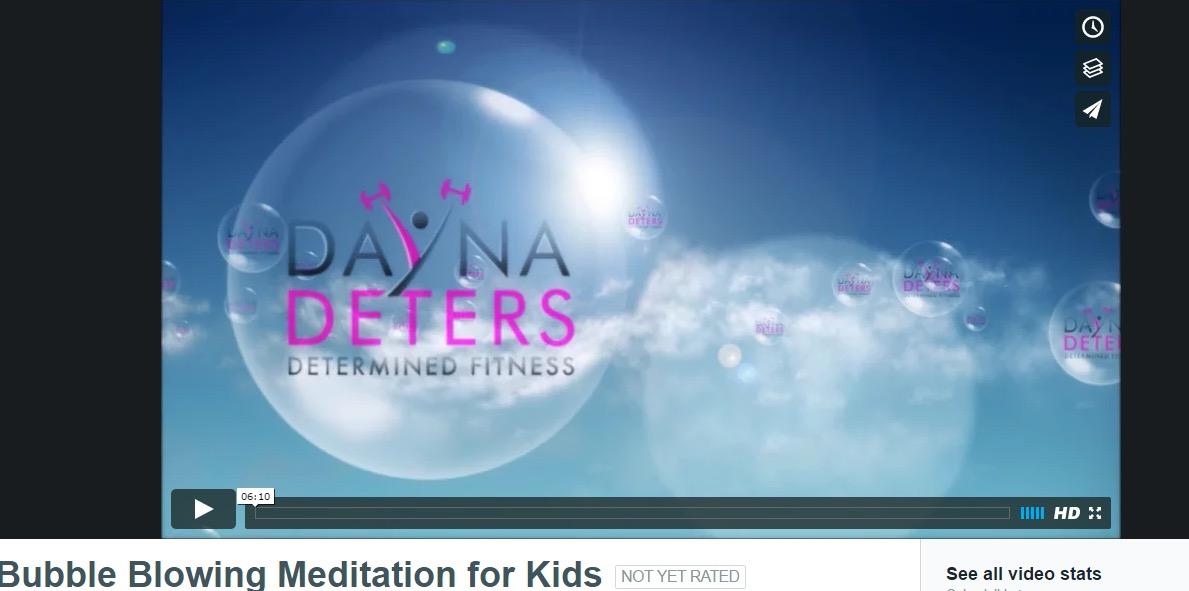 Bubble Blowing Meditation